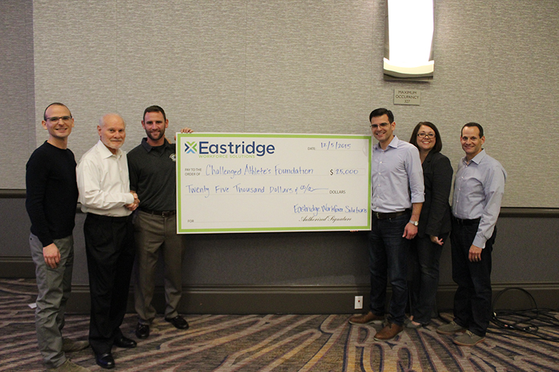 Eastridge Donates to the Challenged Athletes Foundation