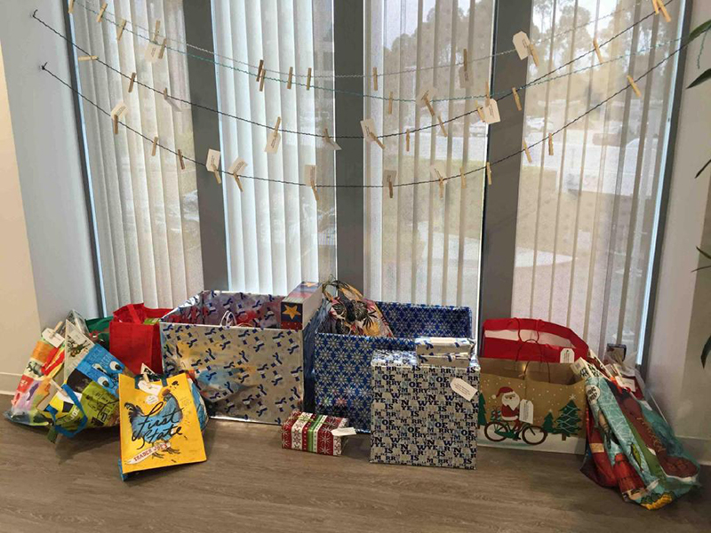 Eastridge Workforce Solutions Holiday Gift Drive