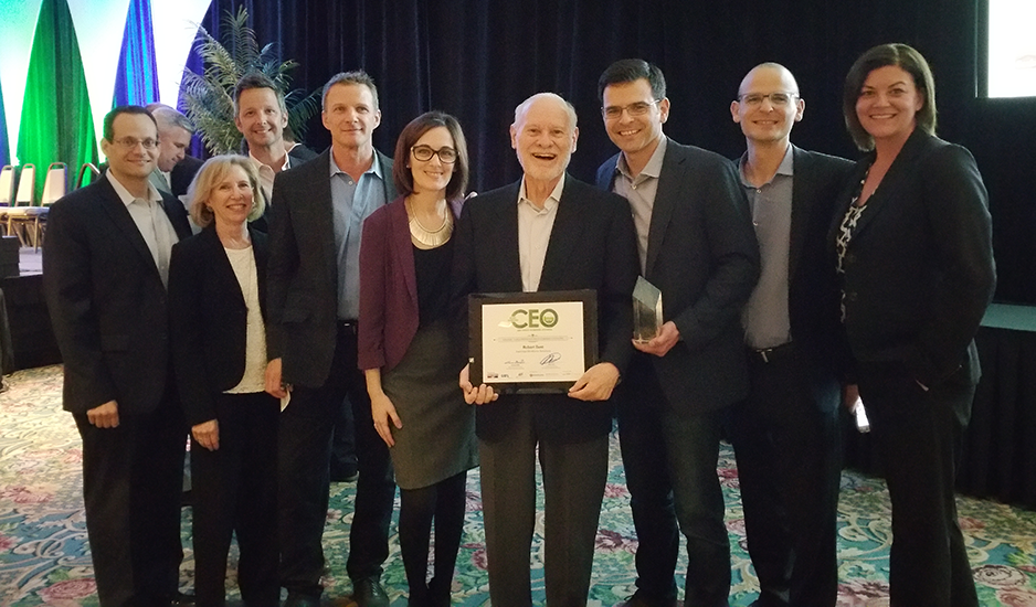 Eastridge Workforce Solutions Supporting Bob As He Wins SDBJ Most Admirable CEO Award