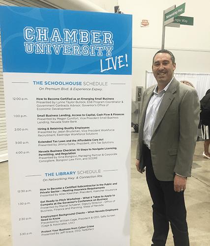 Jason Bruckman Speaks At Las Vegas Metro Chamber Business Expo