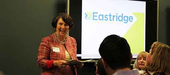 Judy Enns of Eastridge HR Speaking