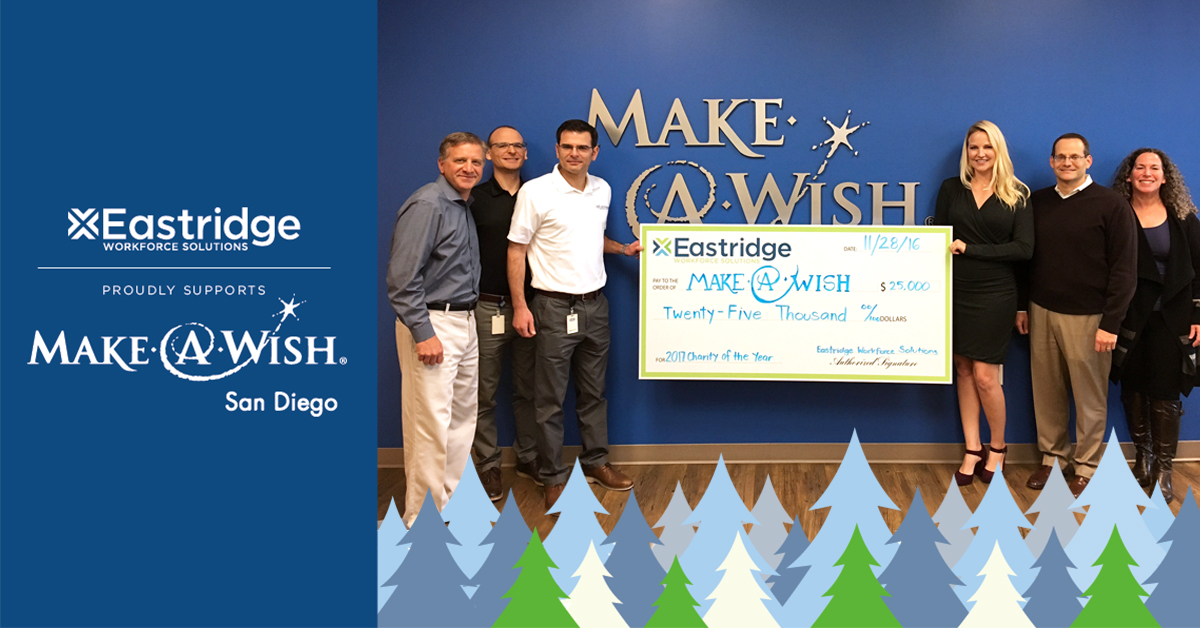 Eastridge supports Make A Wish