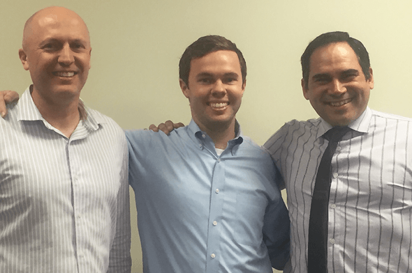 Reid Haymond from Eastridge Workforce Solutions Wins Integrity Award