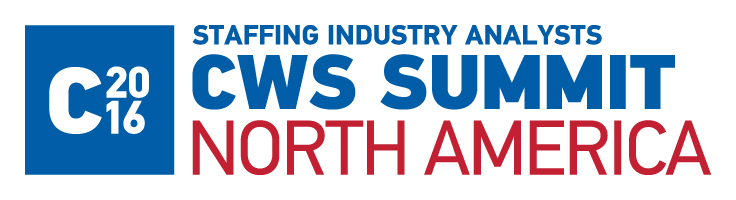 Staffing Industry Analysts 2016 CWS Summit North America