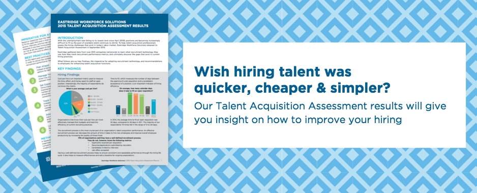 Talent Acquisition Assessment Results