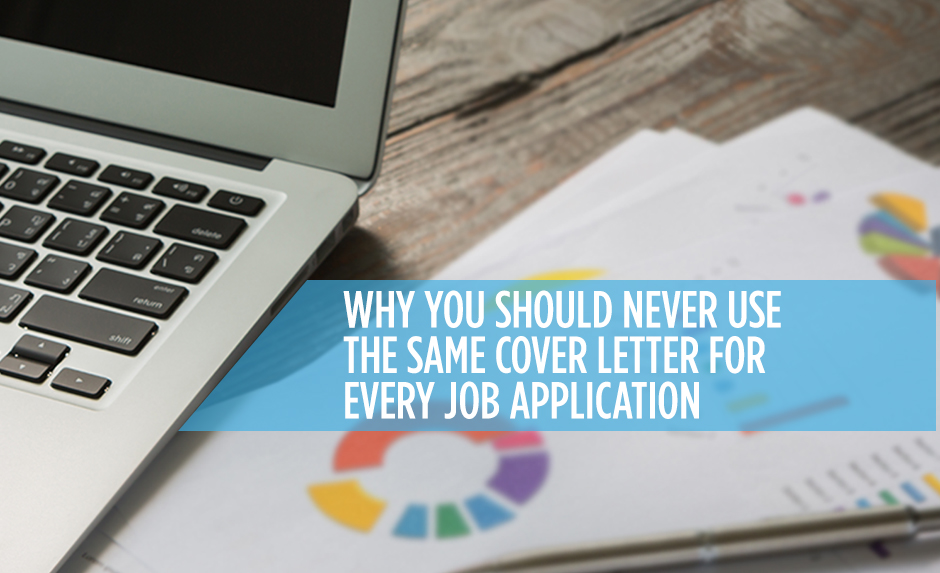 Customize Your Cover Letter