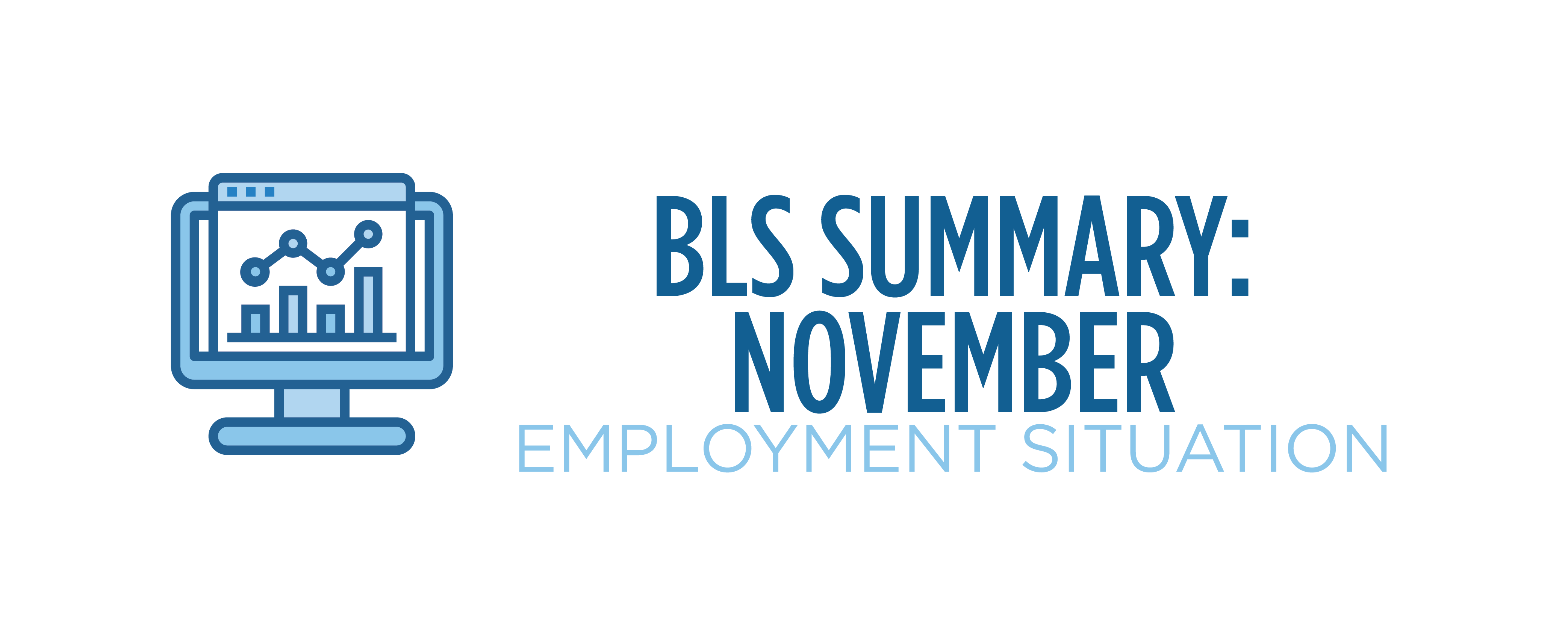 bls summary november employment situation