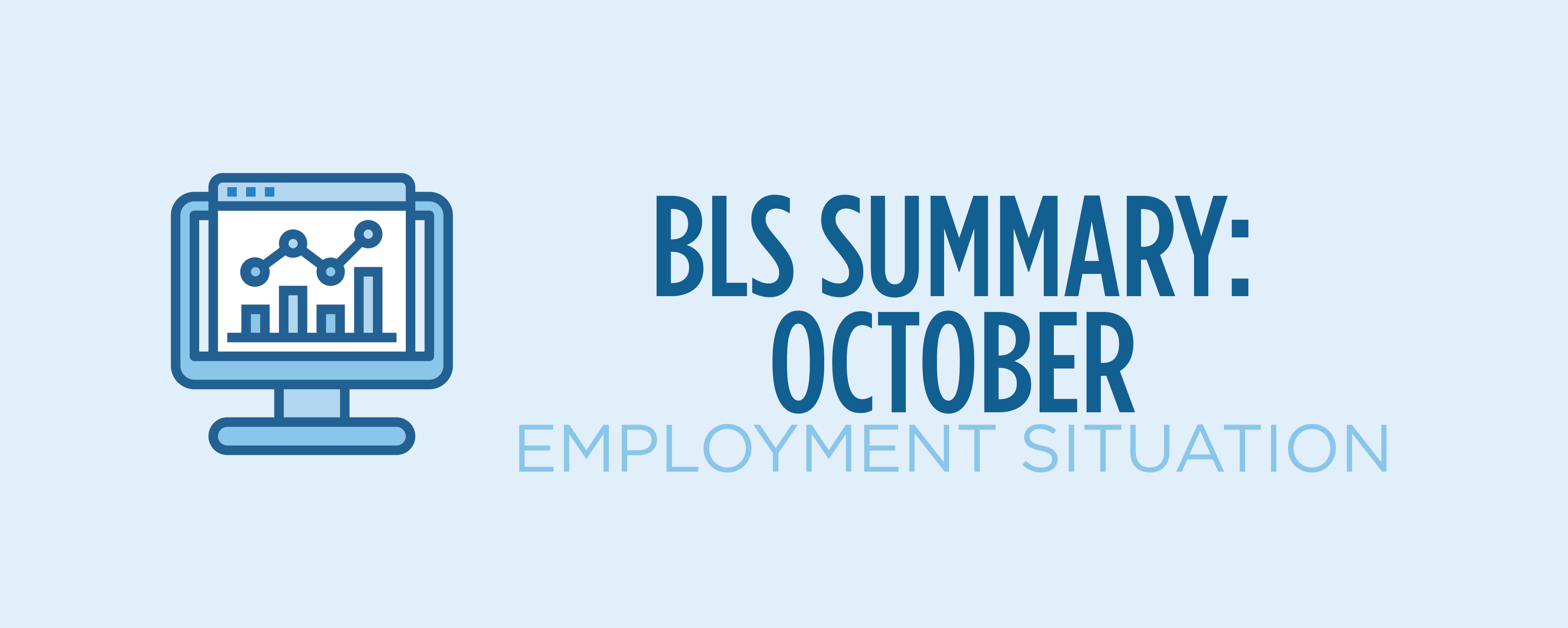 bls summary october employment situation