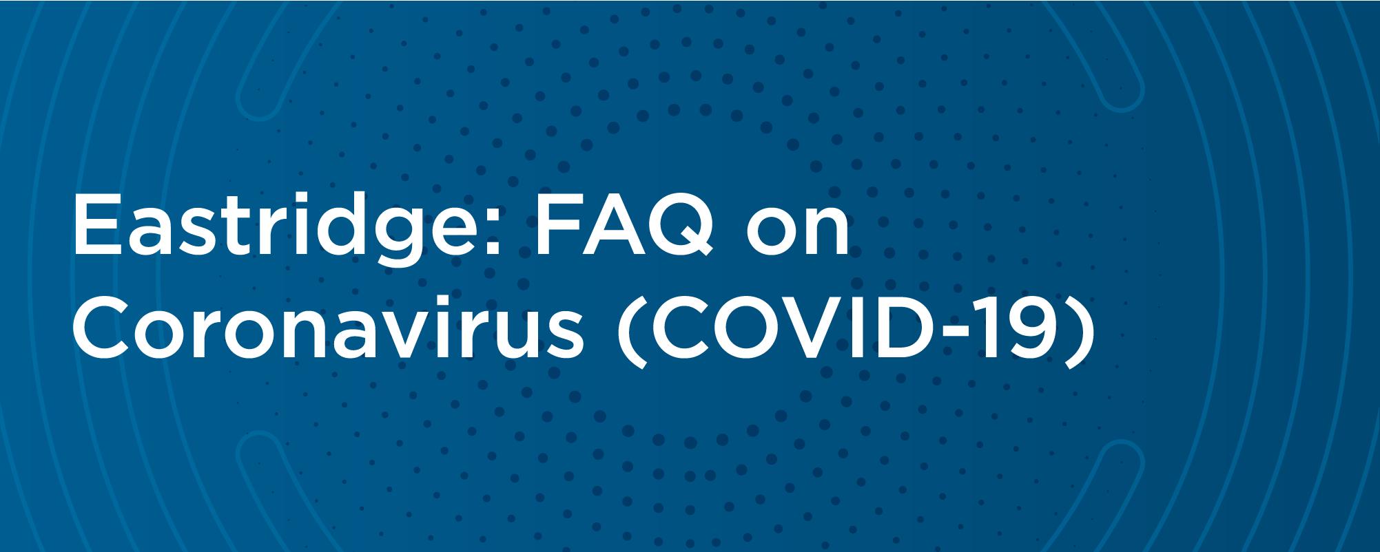 coronavirus faq covid 19