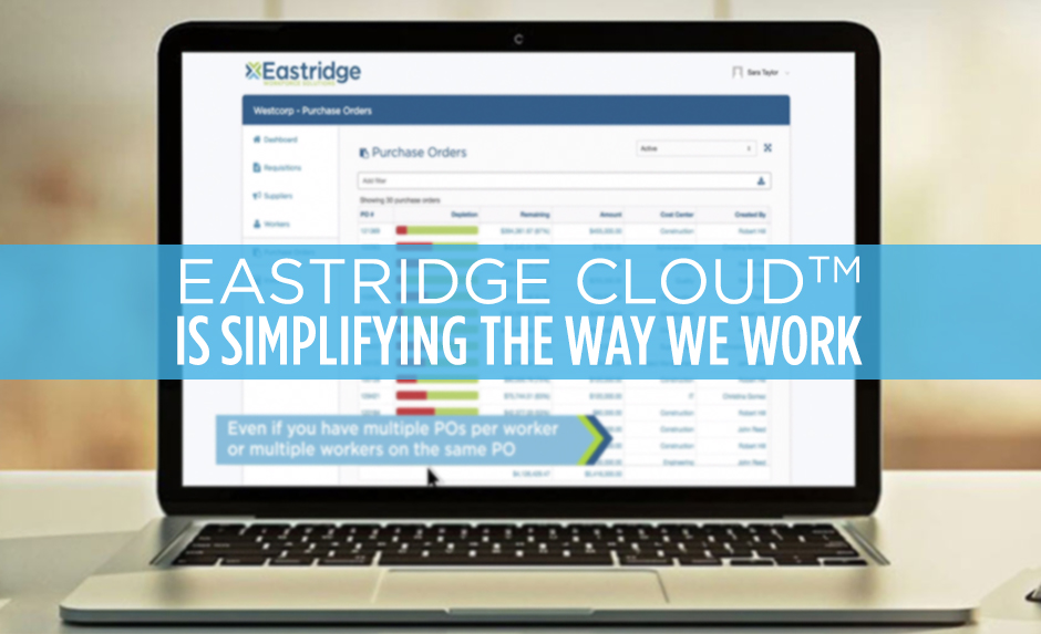 eastridge cloud trademark is simplifying the way we work
