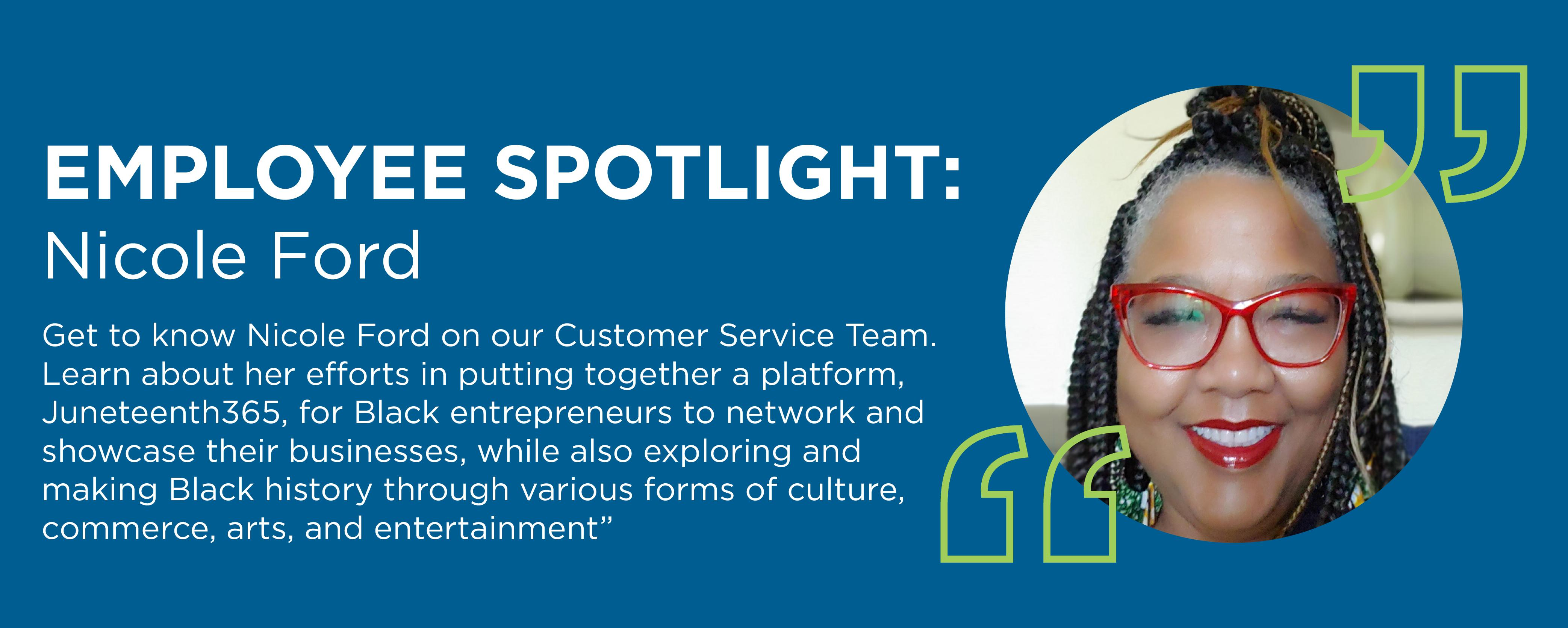 Employee Spotlight: Nicole D. Ford