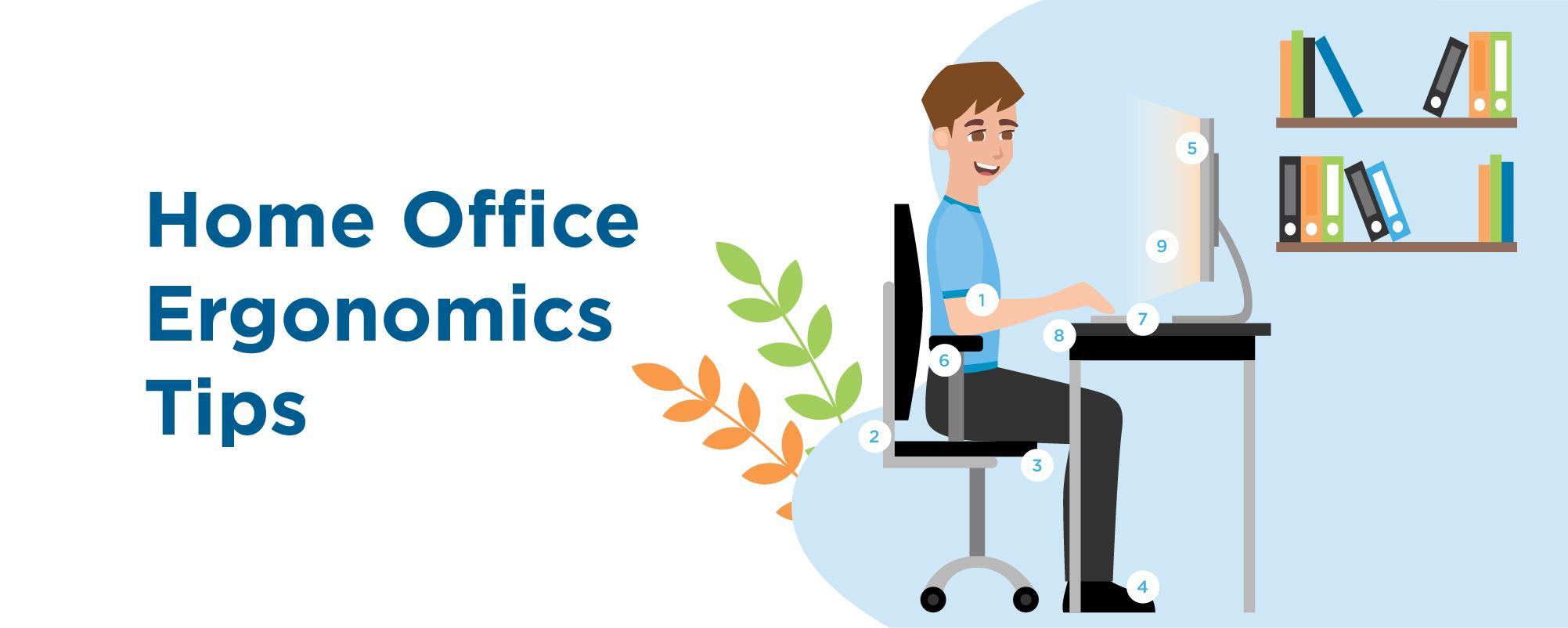 home office ergonomics tips