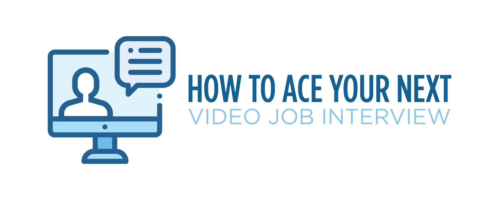 how to ace your next video job interview