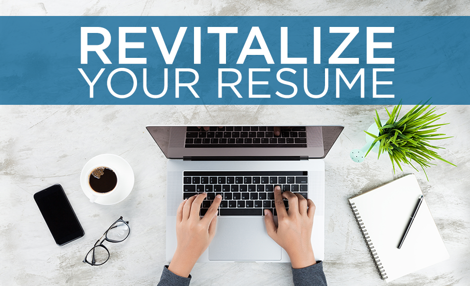 revitalize your resume