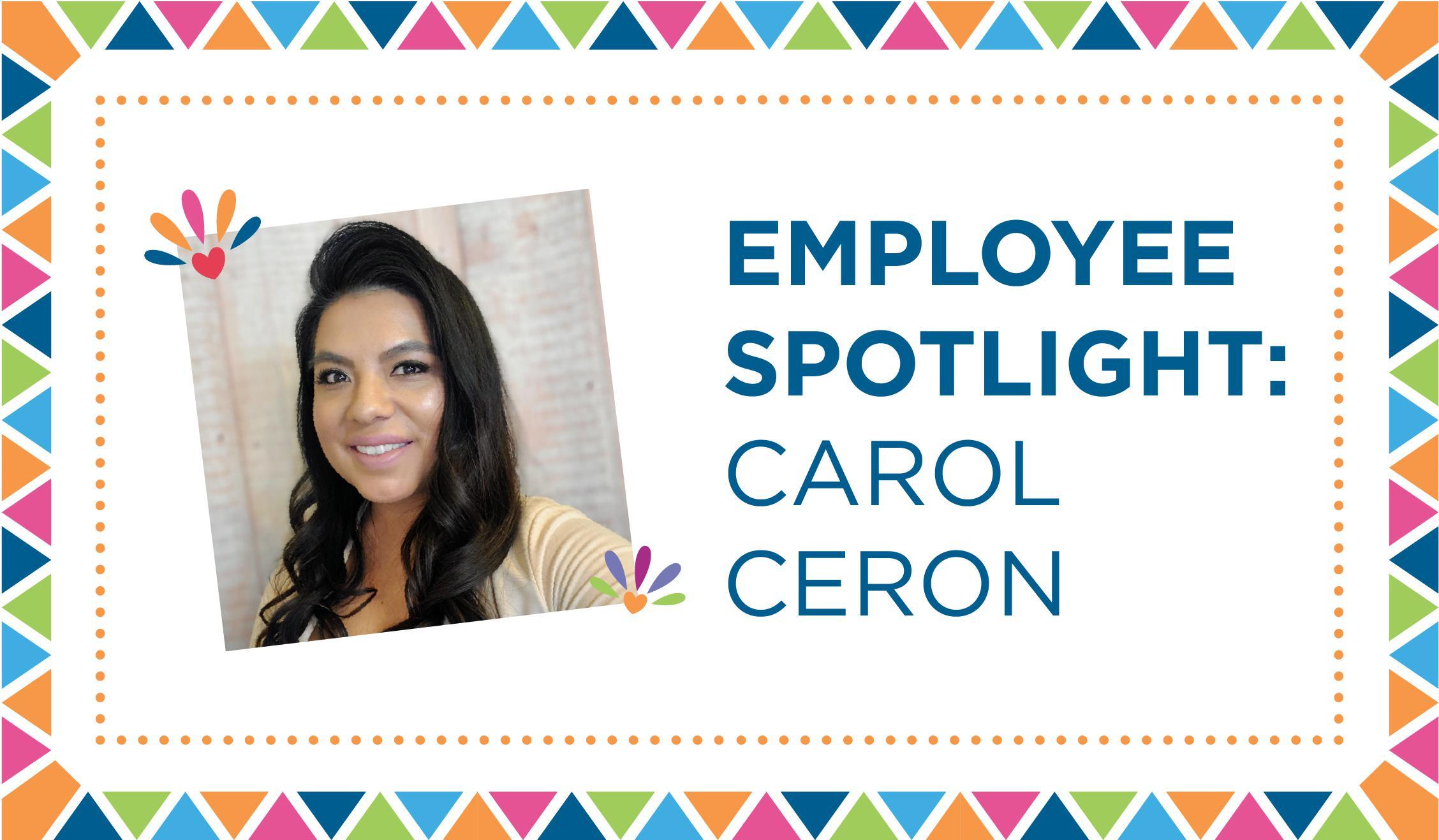 Cultural Heritage Employee Spotlight - Carol Ceron